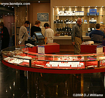 shopping on board the oosterdam cruise ship