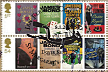 Ian Fleming James Bond stamps
